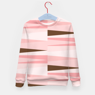 Miniaturka Scandinavian Geometry Pattern Pink #Homedecor Kid's sweater, Live Heroes