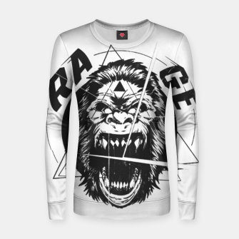 Thumbnail image of RAGE The King of the Apes. Women sweater, Live Heroes