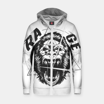 Miniature de image de RAGE The King of the Apes. Zip up hoodie, Live Heroes