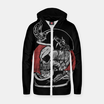 Thumbnail image of DEAD RIDER Zip up hoodie, Live Heroes