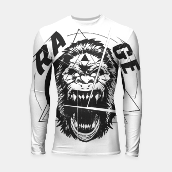 Miniaturka RAGE The King of the Apes. Longsleeve rashguard , Live Heroes