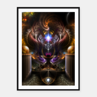 Thumbnail image of The Violet Pearl Of Xzylian Framed poster, Live Heroes