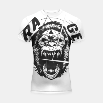 Miniaturka RAGE The King of the Apes. Shortsleeve rashguard, Live Heroes