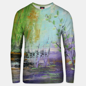 Thumbnail image of pamintul mov Unisex sweater, Live Heroes