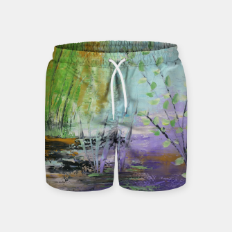 Thumbnail image of pamintul mov Swim Shorts, Live Heroes