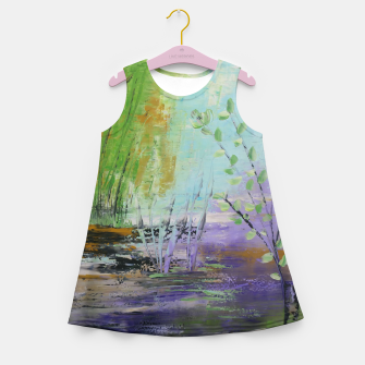 Thumbnail image of pamintul mov Girl's summer dress, Live Heroes