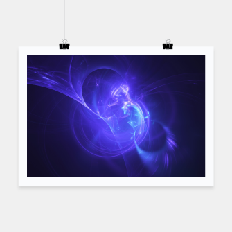 Thumbnail image of Deep Space Abstract Fractal Art Design Poster, Live Heroes