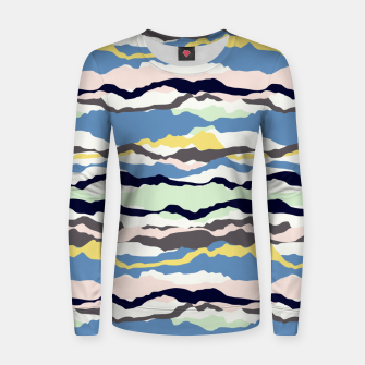 Thumbnail image of Abstract Color Women sweater, Live Heroes