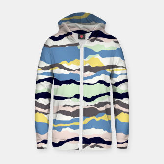 Imagen en miniatura de Abstract Color Zip up hoodie, Live Heroes