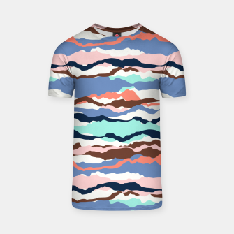 Miniatur Abstract Color T-shirt, Live Heroes