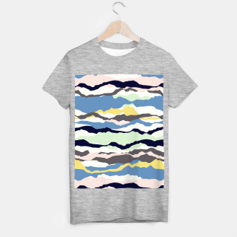 Imagen en miniatura de Abstract Color T-shirt regular, Live Heroes