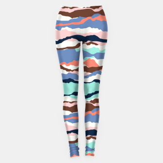 Miniaturka Abstract Color Leggings, Live Heroes