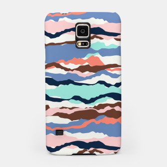 Miniatur Abstract Color Samsung Case, Live Heroes