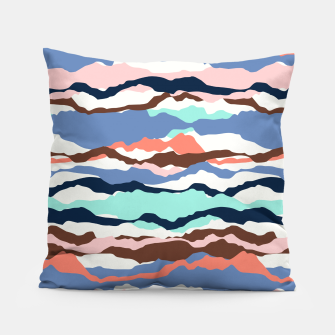 Miniatur Abstract Color Pillow, Live Heroes