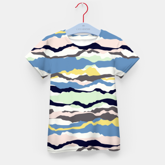 Miniaturka Abstract Color Kid's t-shirt, Live Heroes