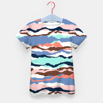 Miniatur Abstract Color Kid's t-shirt, Live Heroes