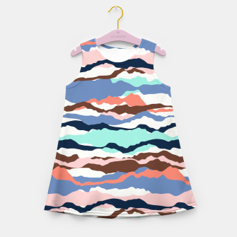Imagen en miniatura de Abstract Color Girl's summer dress, Live Heroes