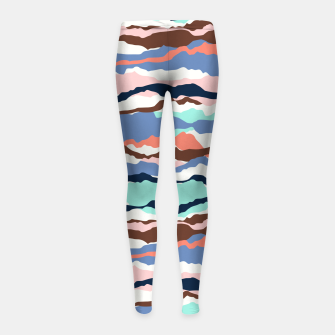 Imagen en miniatura de Abstract Color Girl's leggings, Live Heroes