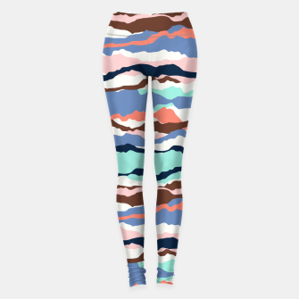 Miniatur Abstract Color Leggings, Live Heroes