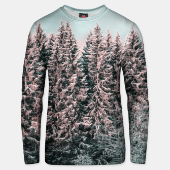 Miniature de image de Sunny winter forest 2 Unisex sweater, Live Heroes