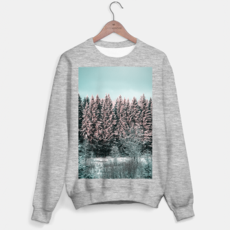 Miniature de image de Sunny winter forest 2 Sweater regular, Live Heroes