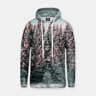 Miniatur Sunny winter forest 2 Hoodie, Live Heroes