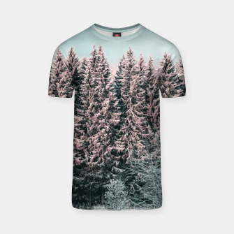 Miniature de image de Sunny winter forest 2 T-shirt, Live Heroes