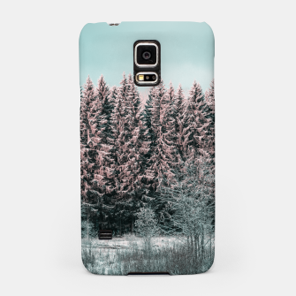 Miniatur Sunny winter forest 2 Samsung Case, Live Heroes