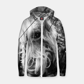 Thumbnail image of Black Forest Zip up hoodie, Live Heroes