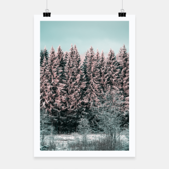 Miniaturka Sunny winter forest 2 Poster, Live Heroes