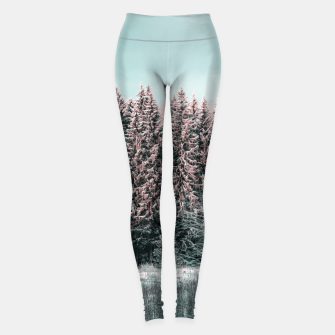 Miniature de image de Sunny winter forest 2 Leggings, Live Heroes