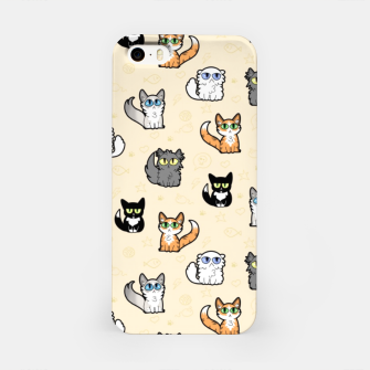 Imagen en miniatura de House Cats - Cartoon Pattern Peachy iPhone Case, Live Heroes