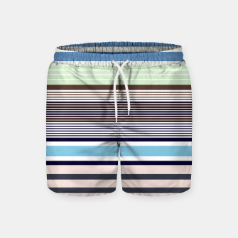 Miniatur Plaid Swim Shorts, Live Heroes