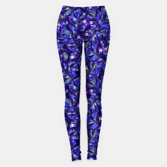 Miniaturka Monstera Leaves Leggings, Live Heroes