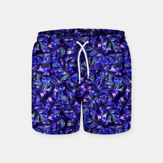 Miniatur Monstera Leaves Swim Shorts, Live Heroes