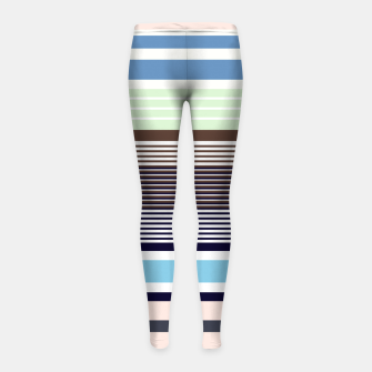 Imagen en miniatura de Plaid Girl's leggings, Live Heroes