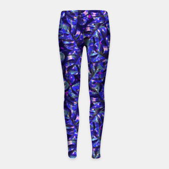 Imagen en miniatura de Monstera Leaves Girl's leggings, Live Heroes