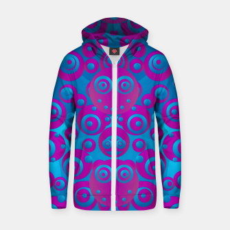 Imagen en miniatura de The  eyes of freedom in polka dot cartoon pop art Zip up hoodie, Live Heroes