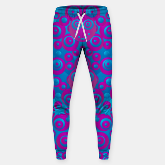 Imagen en miniatura de The  eyes of freedom in polka dot cartoon pop art Sweatpants, Live Heroes