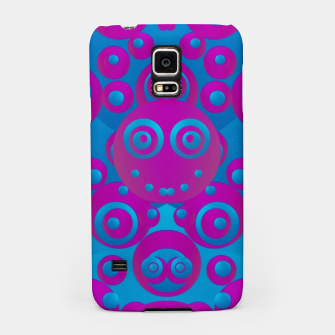 Thumbnail image of The  eyes of freedom in polka dot cartoon pop art Samsung Case, Live Heroes