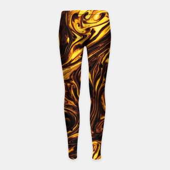 Imagen en miniatura de golden wear Girl's leggings, Live Heroes