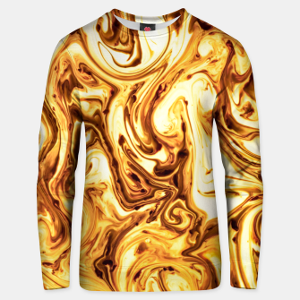 Thumbnail image of Golden Fluid Unisex sweater, Live Heroes