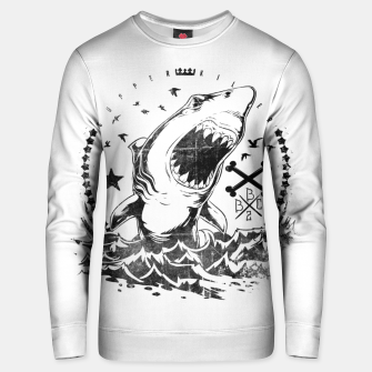 Miniatur The King of Sharks Unisex sweater, Live Heroes