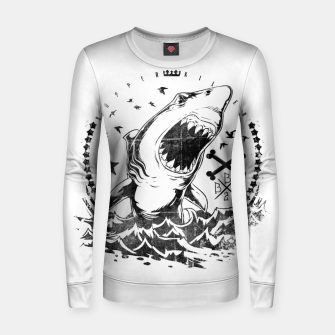 Imagen en miniatura de The King of Sharks Women sweater, Live Heroes