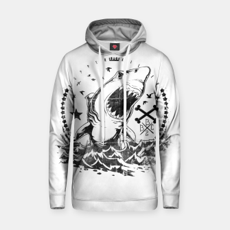 Thumbnail image of The King of Sharks Hoodie, Live Heroes