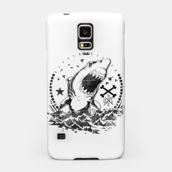 Miniatur The King of Sharks Samsung Case, Live Heroes