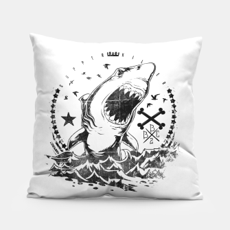 Miniatur The King of Sharks Pillow, Live Heroes