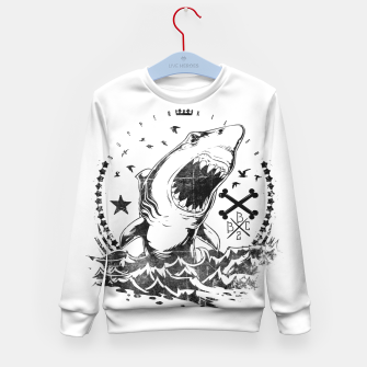 Imagen en miniatura de The King of Sharks Kid's sweater, Live Heroes