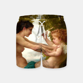 Miniaturka A Young Girl Defending Herself Against Eros Swim Shorts, Live Heroes