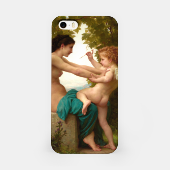 Imagen en miniatura de A Young Girl Defending Herself Against Eros iPhone Case, Live Heroes